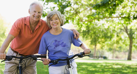 Older couple of bicycles